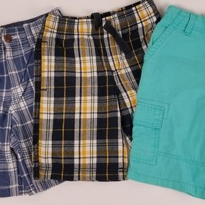 BUNDLE 3 PAIR BOYS SHORTS SZ 5
